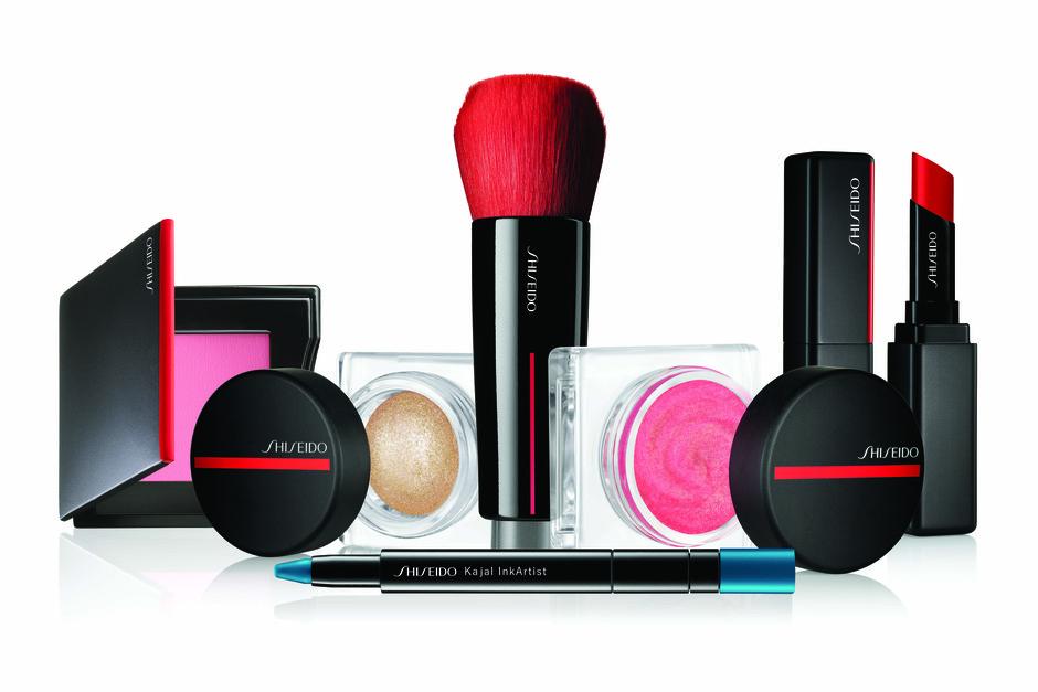 Gel, črnilo, prah in rosa v prenovljeni liniji Shiseido! (foto: Shiseido Press)