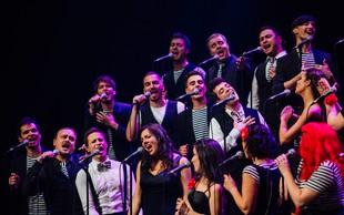 Perpetuum Jazzile v Stožicah s šovom Le slovensko!