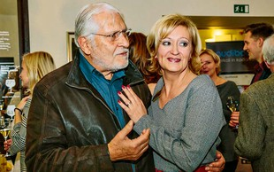 Tukaj uživata Boris Cavazza in Ksenija Benedetti, prava ljubezenska pravljica
