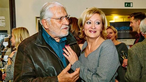 Tukaj uživata Boris Cavazza in Ksenija Benedetti, prava ljubezenska pravljica (foto: Stane Jerko)