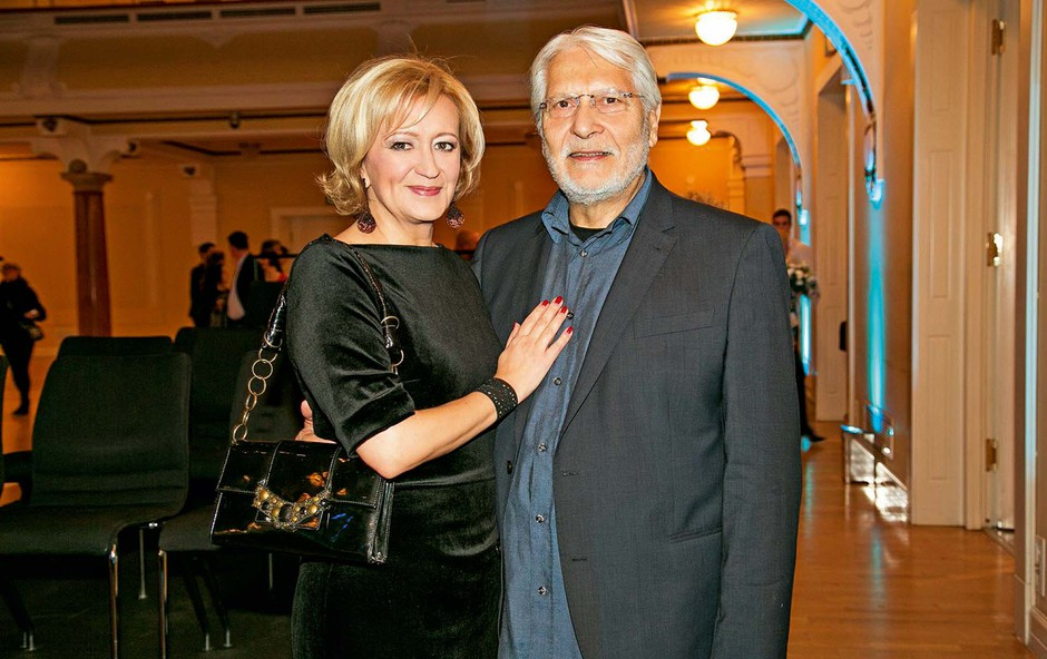 Ljubezenska pravljica Borisa Cavazze in Ksenije Benedetti: Ti pogledi povedo več, kot tisoč besed (foto: Stane Jerko)
