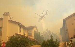 Požar v Kaliforniji je prizadel tudi zvezdnike - med njimi je Lady Gaga