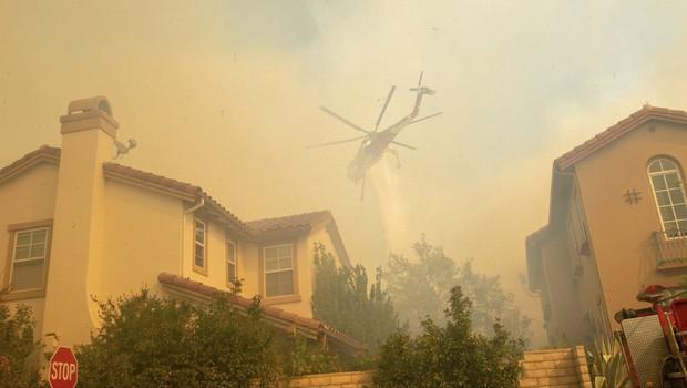 Požar v Kaliforniji je prizadel tudi zvezdnike - med njimi je Lady Gaga (foto: Profimedia)