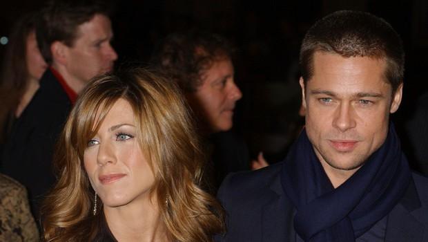 Brad Pitt in Jennifer Aniston sta se v zadnjem trenutku izognila drug drugemu (foto: Profimedia)