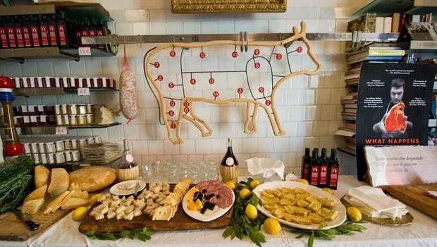 Gastronomski zvezdnik Dario Cecchini v restavraciji diVino (foto: profimedia)