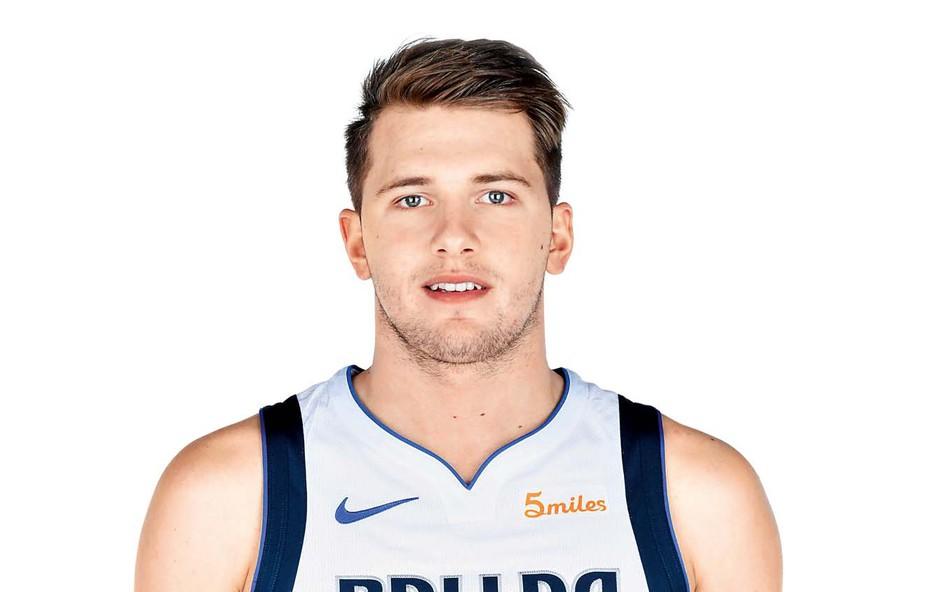 Luka Dončić ima lepo navijačico! (foto: Profimedia)