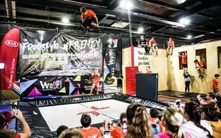 Navdušili na evropskem prvenstvu v freestyle trampolinanju!