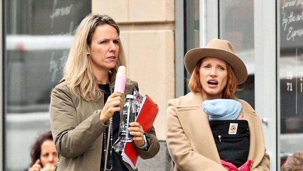 Jessica Chastain dobila hčerko (foto: Profimedia)