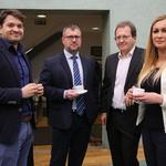 predstavniki ELES - generalnega pokrovitelja konference e-Mobility (foto: Helena Krmelj) (foto: Helena Krmelj)