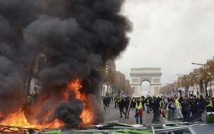 Protesti v Franciji: Nismo se zbrali zato, da bi pretepali policiste, želimo le, da nas vlada sliši