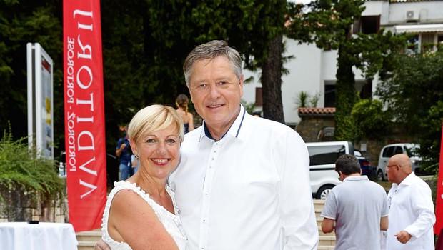Mitja Ferenc in Rosvita Pesek sta drug drugemu največja podpornika in kritika! (foto: Primož Predalič)