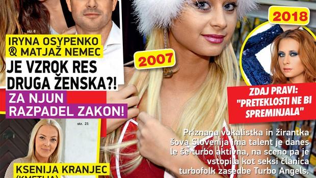 Iryna Osypenko & Matjaž Nemec: Je vzrok res druga ženska?! (foto: Nova)