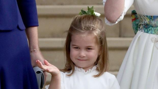Mala princesa Charlotte je čista kopija nečakinje princese Diane (foto: Profimedia)
