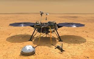 Ameriško plovilo Insight uspešno pristalo na Marsu