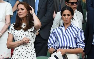 Kate Middleton in Meghan Markle se komaj še prenašata