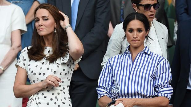 Kate Middleton in Meghan Markle se komaj še prenašata (foto: Profimedia)