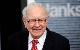 Warren Buffett lani v dobrodene namene nakazal kar 2,8 milijarde dolarjev!
