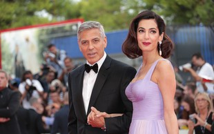 """George Clooney se je v šali razhudil: Mali Archie mi je """"ukradel"""" pozornost!"""