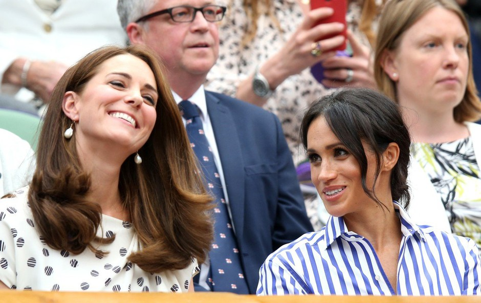 Kate Middleton utišala govorice o tem, da se z Meghan Markle ne moreta videti (foto: Profimedia)