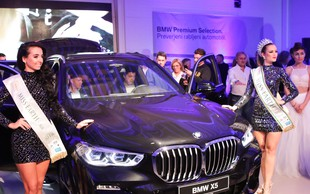 BMW na gala prireditvi z dobrodelno noto