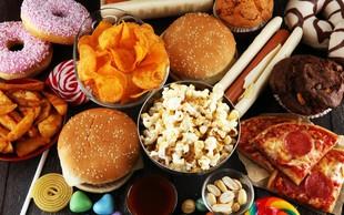 Decembra se Slovenci povprečno zredimo za dva kilograma