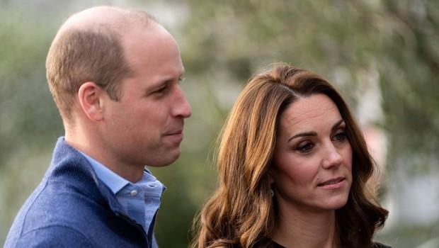 Kate Middleton in princ William z novo potezo želita utišati govorice, da na dvoru ne prenesejo Meghan Markle (foto: Profimedia)