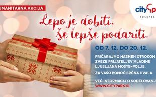Z obiskom Miklavža Citypark naznanja tradicionalno humanitarno akcijo, s katero bodo osrečili otroke