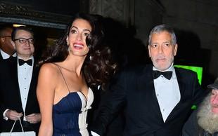 Amal Clooney spet pritegnila pozornost s svojo eleganco!