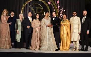 Razkošna poroka Priyanke Chopra ima tudi temno plat - oglasili so se zaščitniki živali!