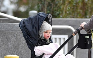 Takšna lepotička je hčerka manekenke Irine Shayk
