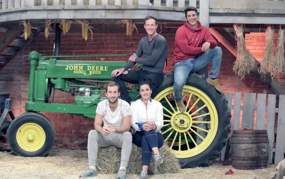 Finalisti letošnje Kmetije so  Aneta, Denis, Franko in Nik (foto: Pop Tv)