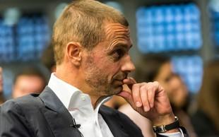 """Aleksander Čeferin na vprašanje o twerkanju na zlati žogi: """"Ta voditelj je bedak!"""""""