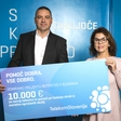 Telekom Slovenije bo 10 otrokom iz projekta Botrstvo pomagal pri uresničitvi talentov