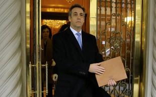 Nekdanji Trumpov odvetnik Cohen za tri leta v zapor!