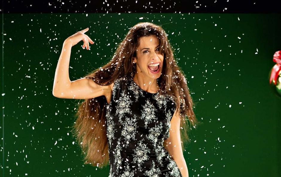 Lara Komar o zimskih vražah (foto: Aljaž Tepina)
