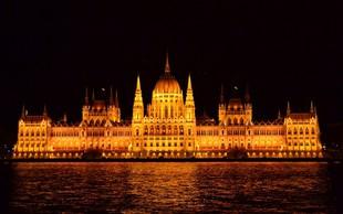 Zaradi nove delavske zakonodaje nasilni protesti pred madžarskim parlamentom