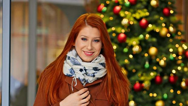 Eva Boto je za praznike najraje doma (foto: Helena Kermelj)
