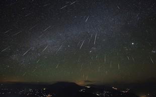 Ponoči vrhunec meteorskega roja Geminidi
