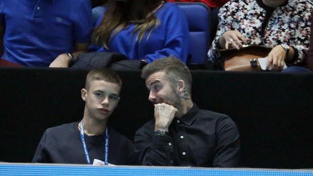 Takšen lepotec je danes sin Davida Beckhama (foto: Profimedia)