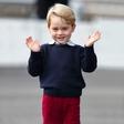 Kate Middleton po naključju razkrila skrivnost svojega sinčka, princa Georgea