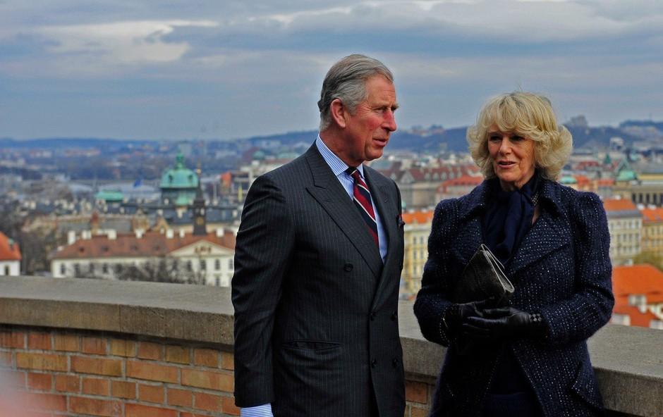 Camilla zaradi princese Diane ni upala na cesto (foto: Profimedia)