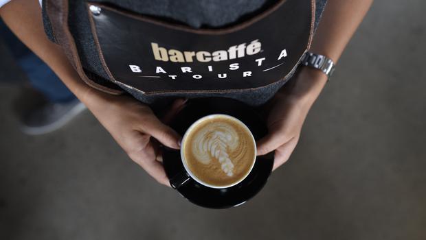 Božična skodelica kave (foto: Barcaffe Press)