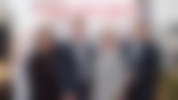 Ula Furlan, igralka, voditeljica; Uroš Vodopivec, key account manager, Henkel Slovenija; Breda Krašna, generalna sekretarka ZPMS; Iztok Verdnik, pomočnik predsednika Mercatorjeve uprave za področje korporativnega komuniciranja