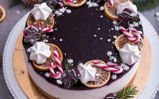Božični recept za torto Prava zimska pravljica!