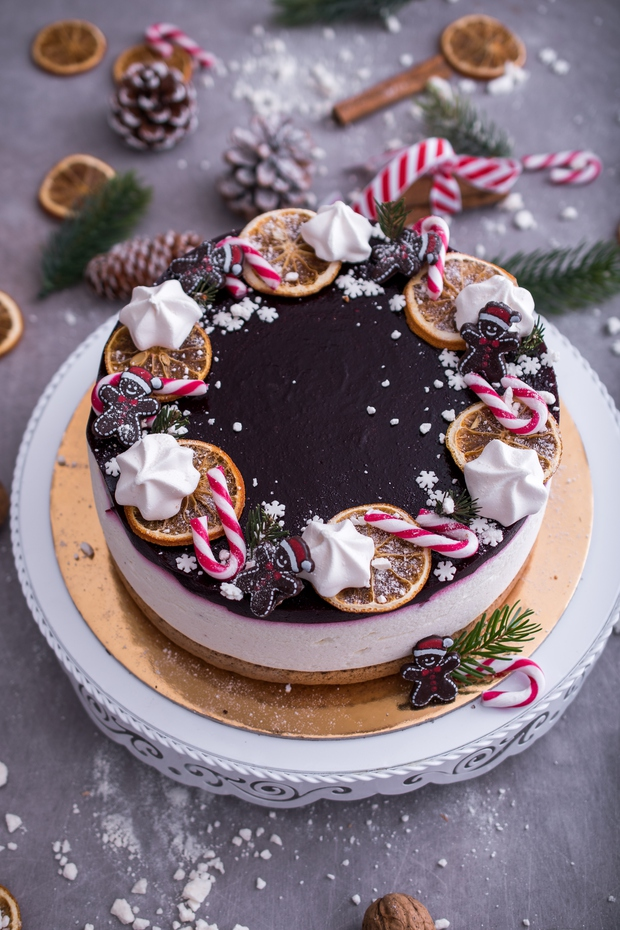 Božični recept za torto Prava zimska pravljica! (foto: Midva kuhava Press)