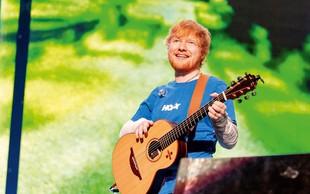 Ed Sheeran presenetil oboževalce: Junija bo izdal nov album