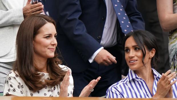 Na dan prišlo zakaj se Kate Middleton in Meghan Markle nikakor ne razumeta (foto: Profimedia)