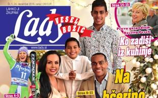 Številna družina Marcosa Tavaresa: Na hčerino poroko v Brazilijo