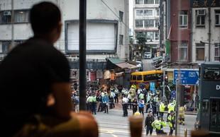 Na Kitajskem z avtobusom zapeljal v množico, več mrtvih