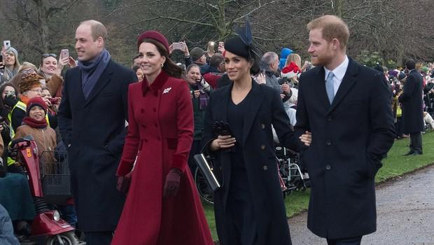 Telesna govorica vojvodinj Kate in Meghan - predstava za javnost? (foto: Profimedia)